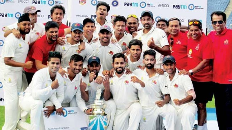 Winning the 2015-16 Ranji Trophy remains Aditya Tare