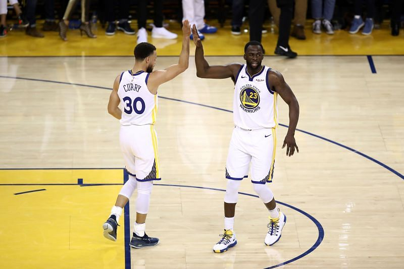 Stephen Curry and Draymond Green are both available for the Golden State Warriors.