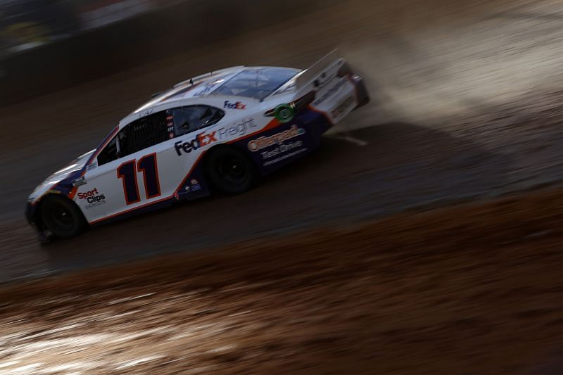 Is Denny Hamlin looking like a championship contender after Bristol? Chris Graythen. Getty Images
