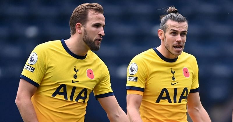 Kane(L) and Gareth Bale(R) will be the go-to FPL options in Gameweek 29.