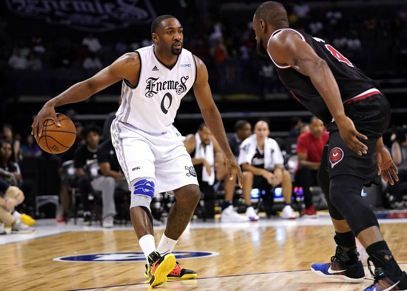 Forner NBA player GIlbert Arenas was involved in one of the biggest contract busts of NBA history