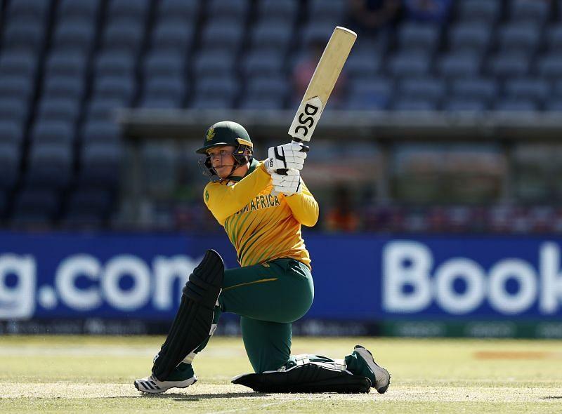Lizelle Lee scored a match-winning 70 for South Africa Women