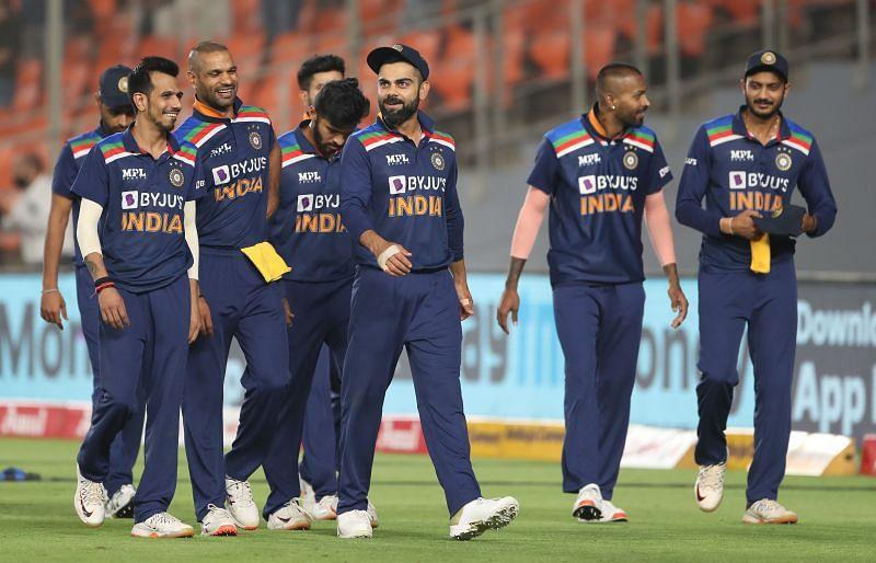Team India. Pic: BCCI
