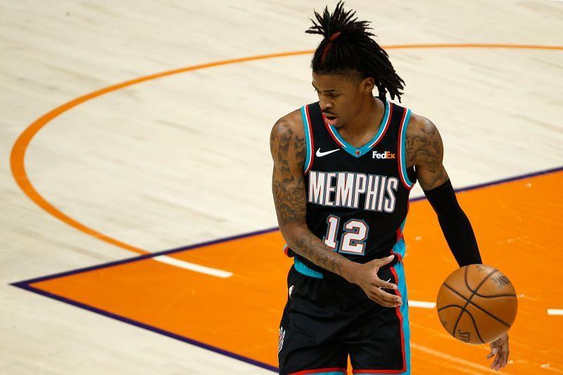 Ja Morant continues to drive the Memphis Grizzlies forward