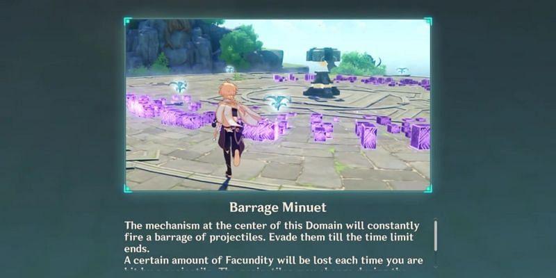 Barrage Minuet (Image via TSoul22, YouTube)
