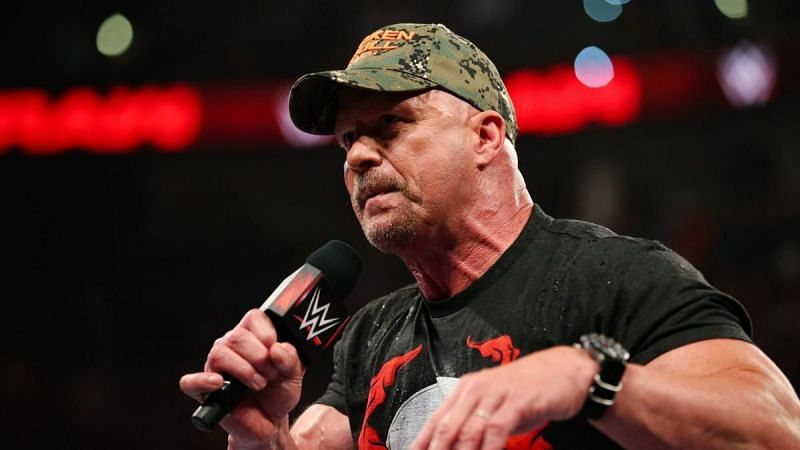 Steve Austin received his WWE Hall of Fame induction in 2009.