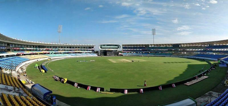 Saurashtra Cricket Association Stadium, Rajkot (Image Courtesy: Twitter)