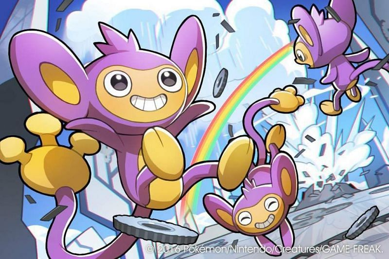 Aipom (Image via Naoki Saito and The Pokemon Company)