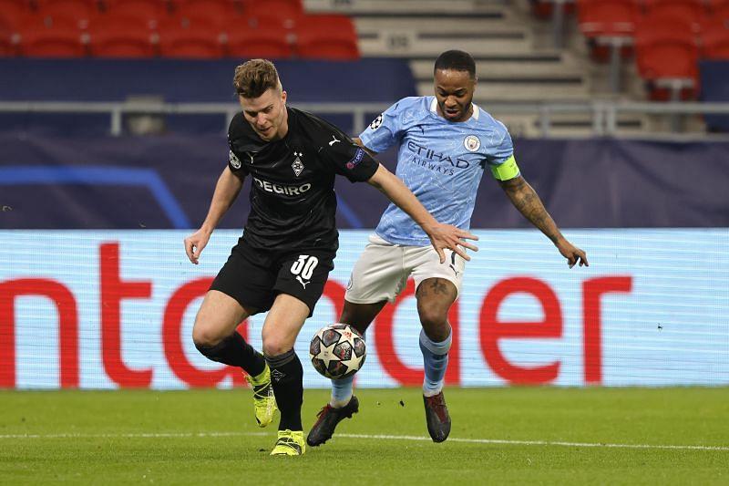 Manchester City play Borussia Monchengladbach on Tuesday