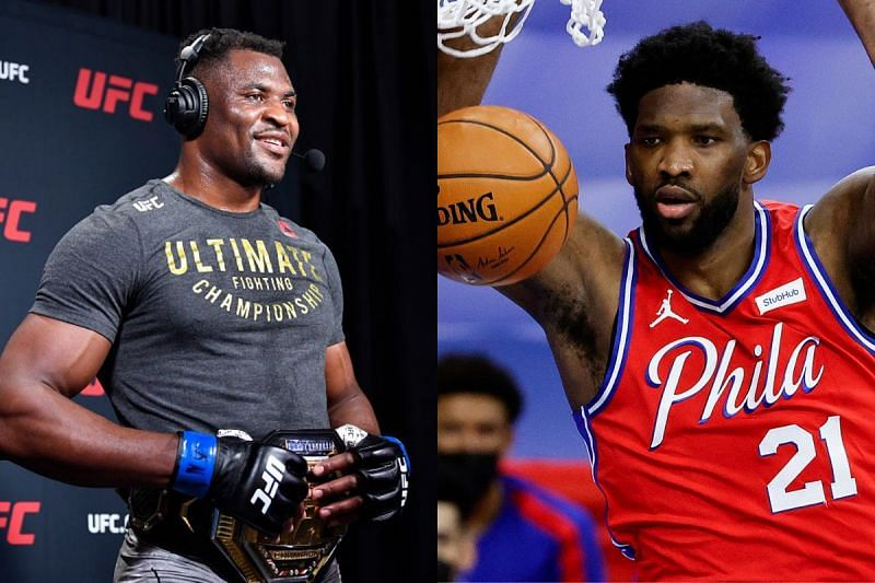 Francis Ngannou and Joel Embiid share Cameroonian roots
