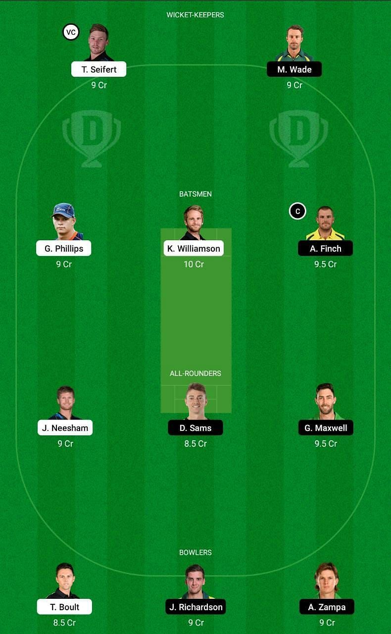 NZ vs AUS Dream11 Tips