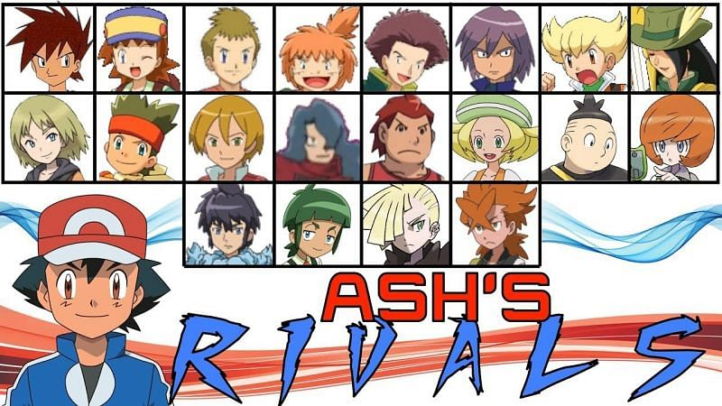 Ash Ketchum was part of several intense rivalries in the Pokemon anime (Image via Tom Salazar on Youtube)