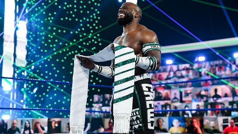 Apollo Crews is now a heel on SmackDown