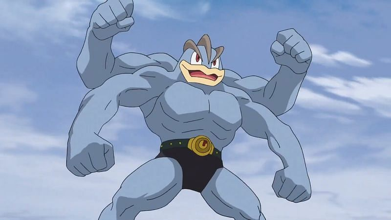 Machamp (Image via The Pokemon Company)