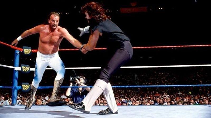 अंडरटेकर vs जेक रॉबर्ट्स Wrestlemania 8