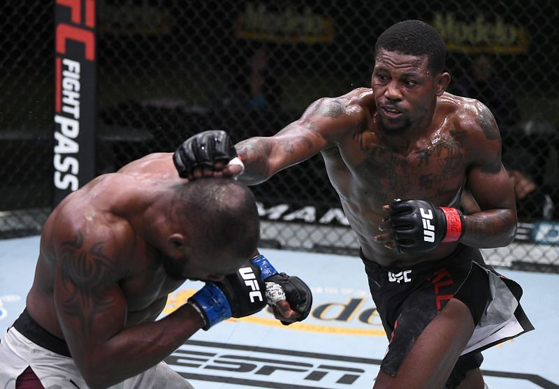 Kevin Holland won five consecutive UFC fights in 2020