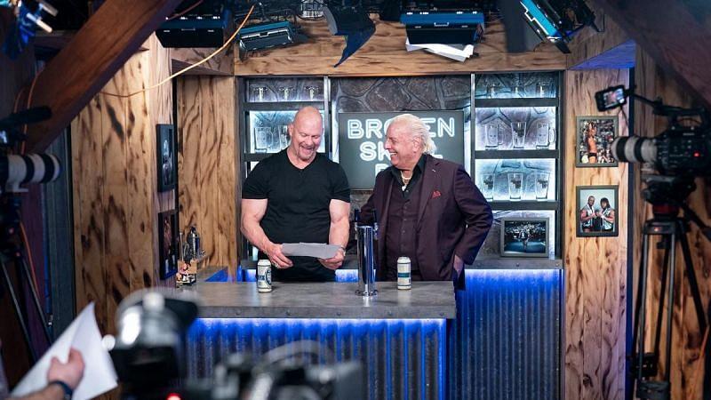 Steve Austin with Ric Flair