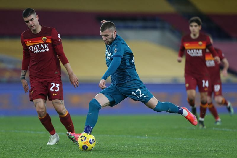Ante Rebic made the decisive contribution of the game.