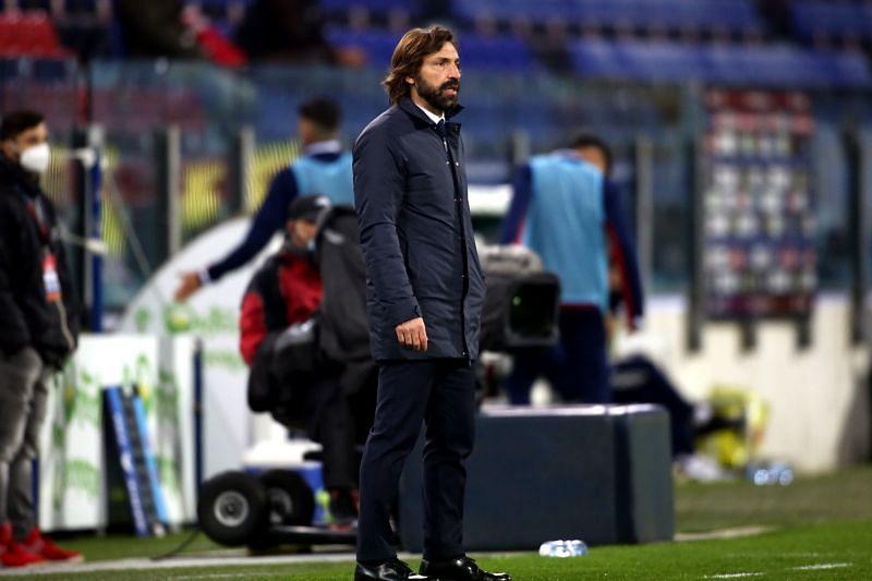 Juventus boss Andrea Pirlo