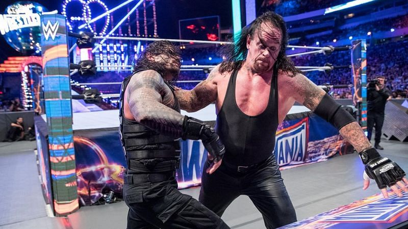 Roman Reigns is one of two superstars in WWE history to ever defeat The Undertaker at WrestleMania