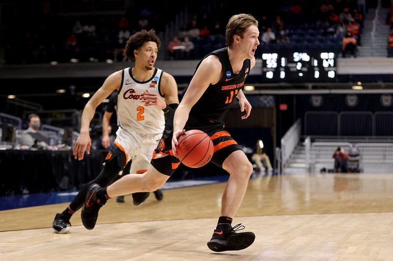 Cade Cunningham in action for Oklahoma State