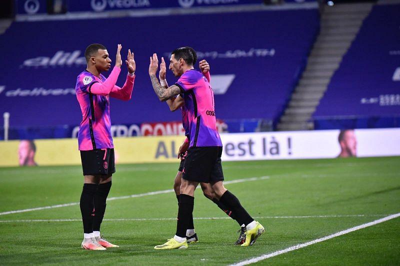 Angel di Maria celebrates after scoring a goal