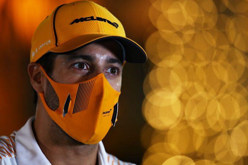Daniel Ricciardo is looking forward to the new season with Mclaren. Photo: Mark Thompson/Getty Images.