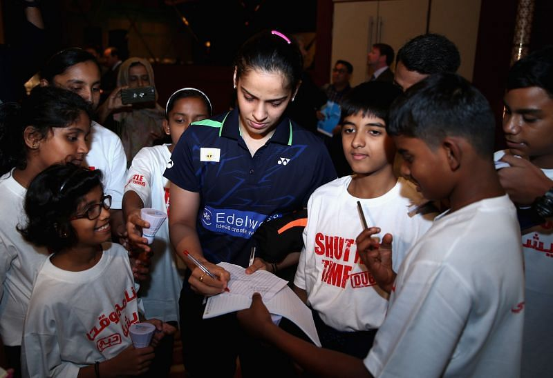 Saina Nehwal became a role-model for aspiring shuttlers