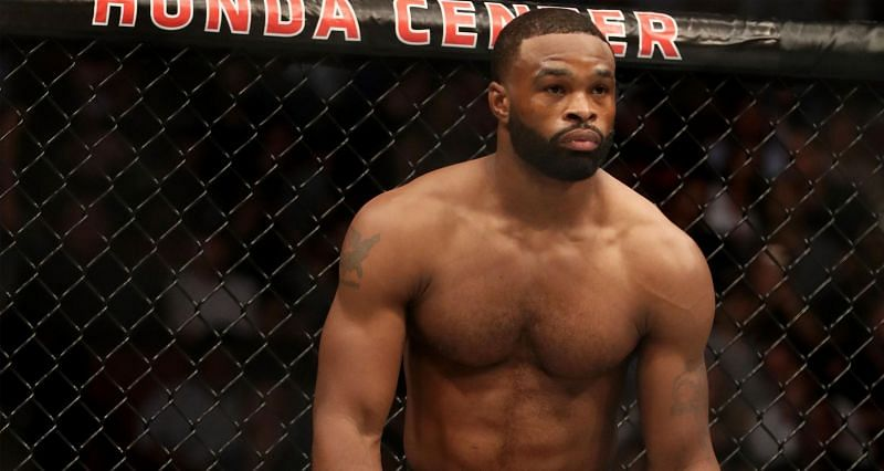 Tyron Woodley (Above) is scheduled to fight No.10 ranked welterweight Vicente Luque in the co-main event of UFC 260