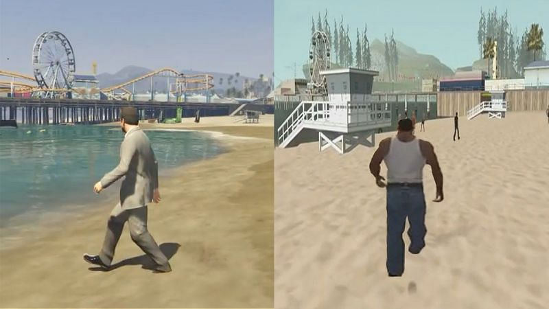 Both games are the sacred cows of the GTA community (Image via Sernando, YouTube)