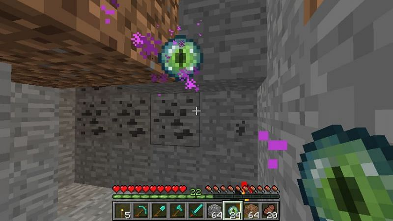 Minecraft eye of ender (Image via Reddit)