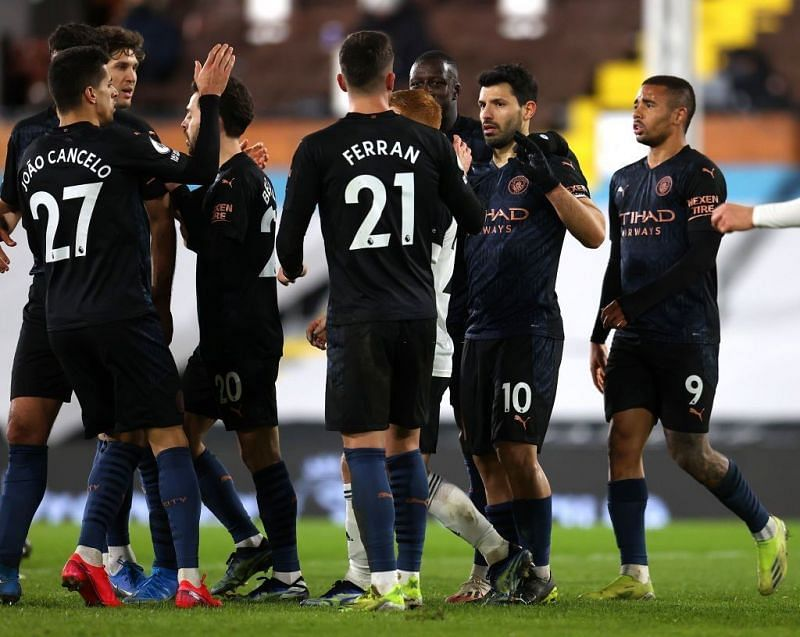 City need just five more wins to seal the title