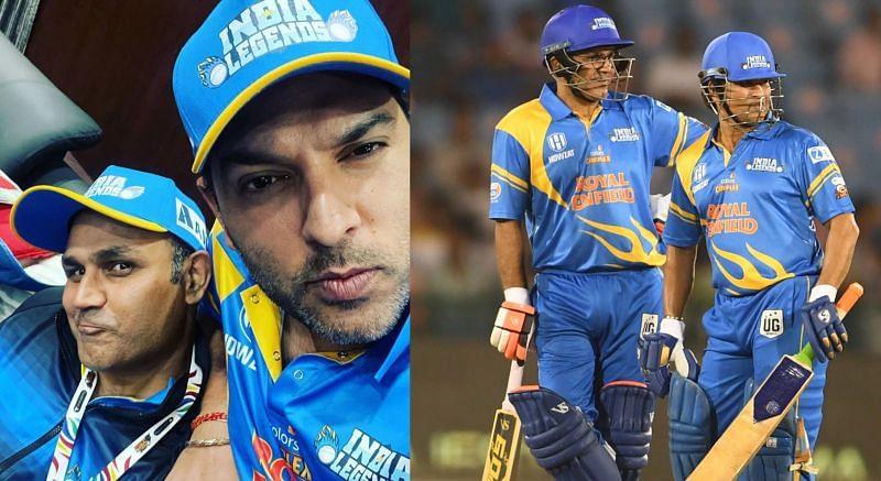 Road Safety Series के मुकाबले में युवराज सिंह ने शानदार गेंदबाजी की, तो सहवाग-सचिन की साझेदारी ने इंडिया लेजेंड्स को जीत दिलाई