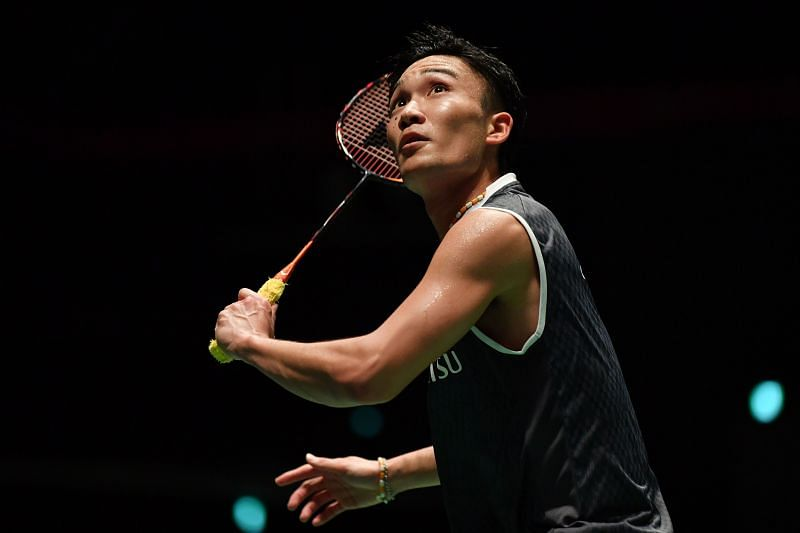 Japanese Kento Momota is the world