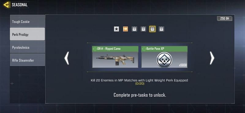 Perk Prodigy Mission- Fourth Stage