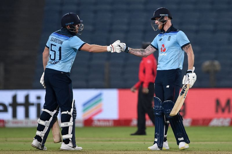 England attacked throughout the innings on Friday