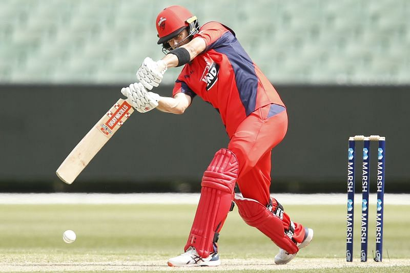Callum Ferguson in action for South Australia in Marsh One-Day Cup(Image Courtesy: Twitter)
