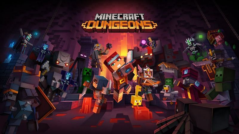 Minecraft Dungeons was released on 26th May 2020 (Image via Minecraft)