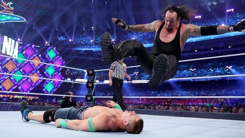 The Undertaker vs. John Cena - WrestleMania 34
