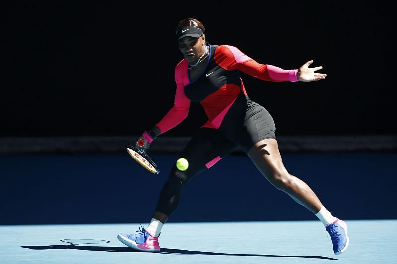 Serena Williams at the 2021 Australian Open