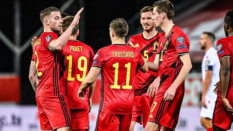 Belgium thrashed Belarus 8-0 in the World Cup qualifiers