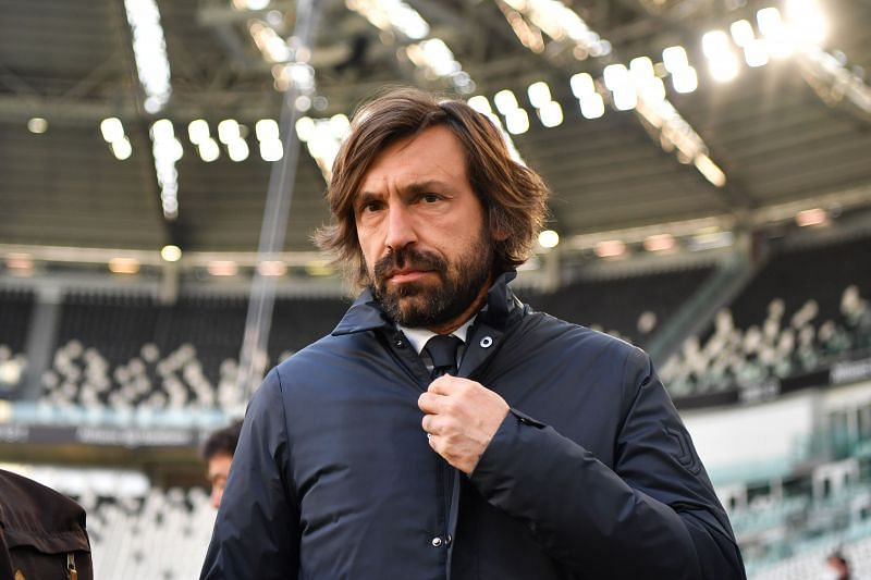 Andrea Pirlo has struggled in his first season as Juventus manager