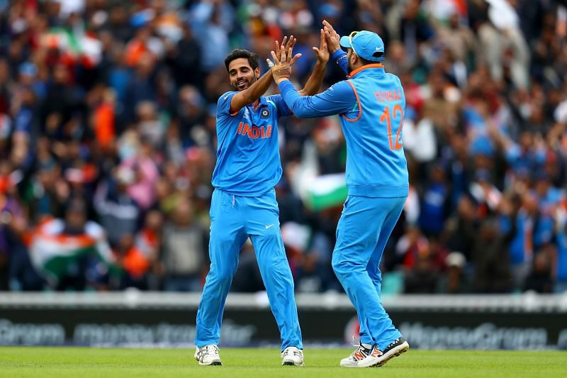 Bhuvneshwar Kumar in the Champions Trophy 2017