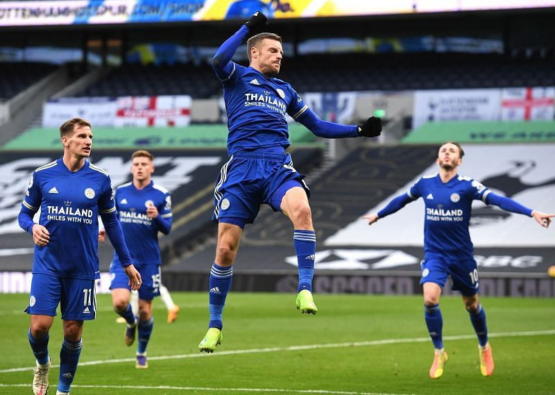 Jamie Vardy is still Leicester City