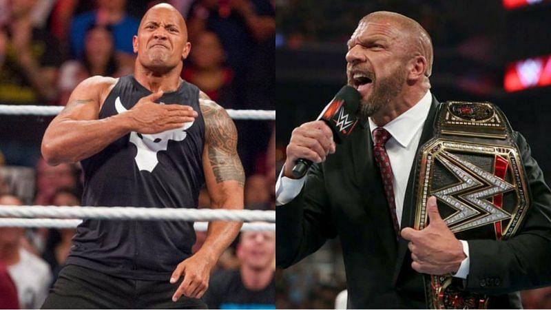 द रॉक और ट्रिपल एच कई मौकों पर WrestleMania को मेन इवेंट कर चुके हैं