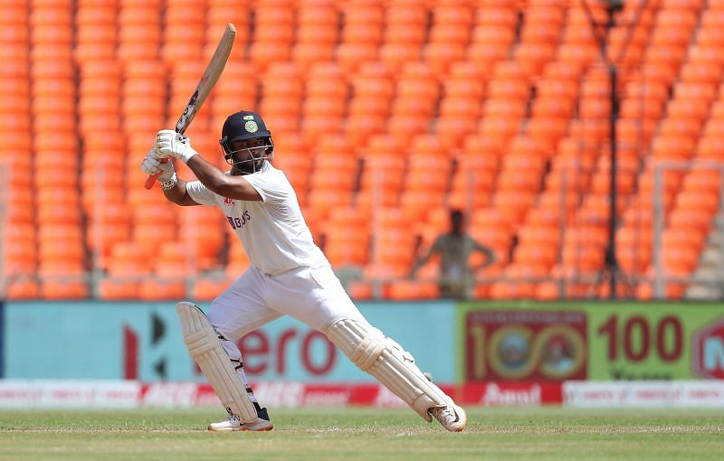 Rishabh Pant scored his first Test hundred on home soil in the series against England
