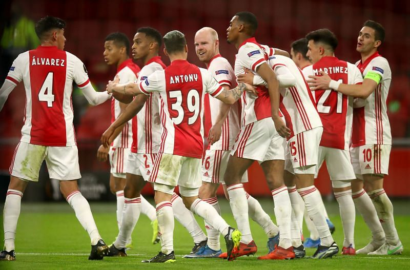 Ajax play PEC Zwolle on Sunday