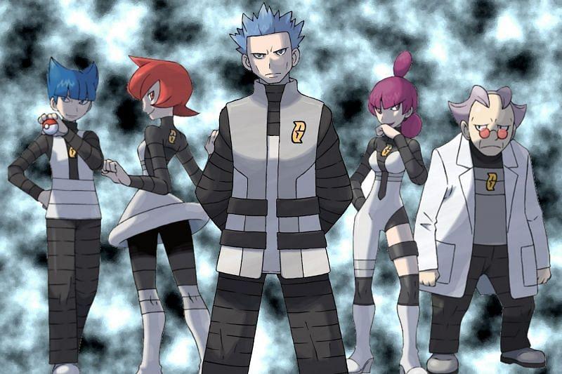 Team Galactic (Image via The Pokemon Company)