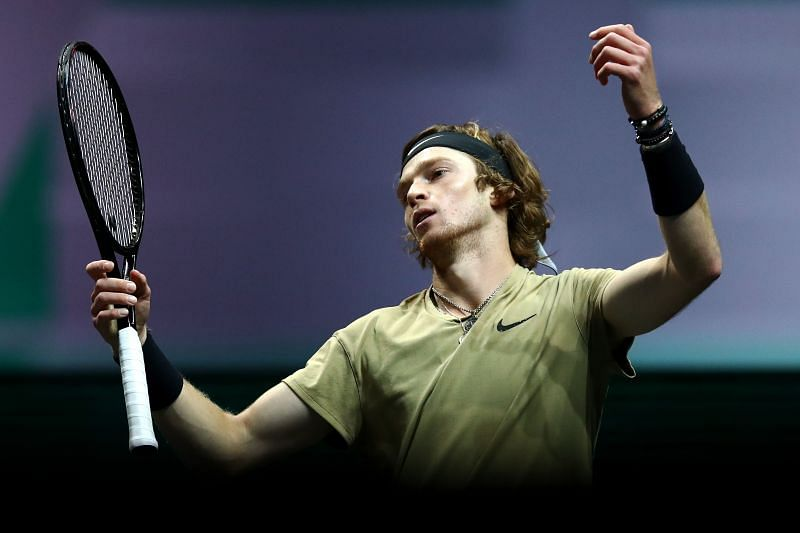 Andrey Rublev holds terrific 15-2 win-loss record for the season