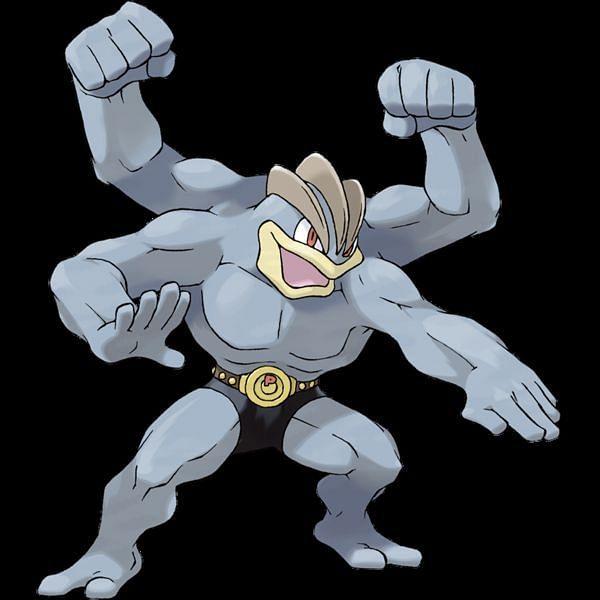 Machamp (Image via The Pokemon Company)